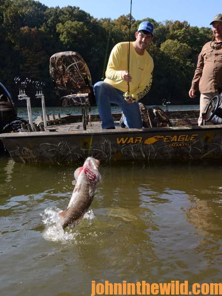 Catching Smallmouths and Catfish with Brian Barton Year-Round 3
