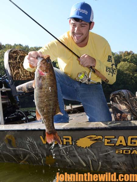 Catching Smallmouths and Catfish with Brian Barton Year-Round 4