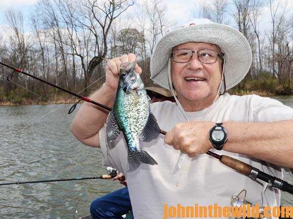 14 Fishing Rising and Falling Water for Crappie with David Spain