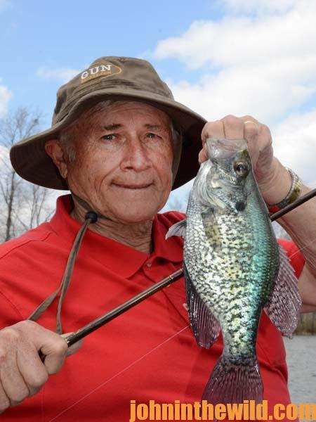 15 Fishing Rising and Falling Water for Crappie with David Spain