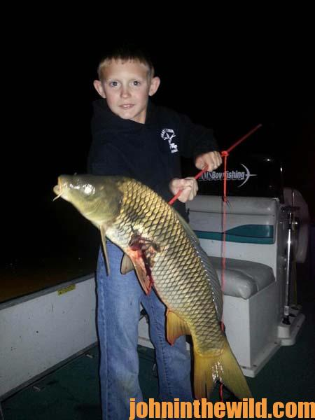 03 Mark Land Loves To Shoot Carp Tournaments with His Bow