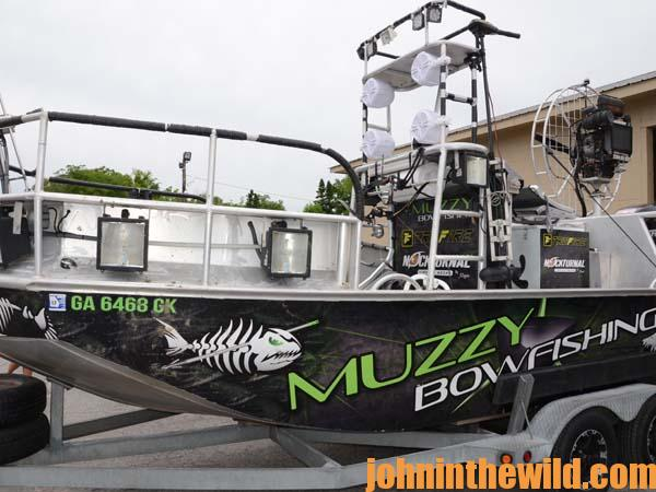 06 Jon Justice on Bowfishing and Shooting Flying Fish