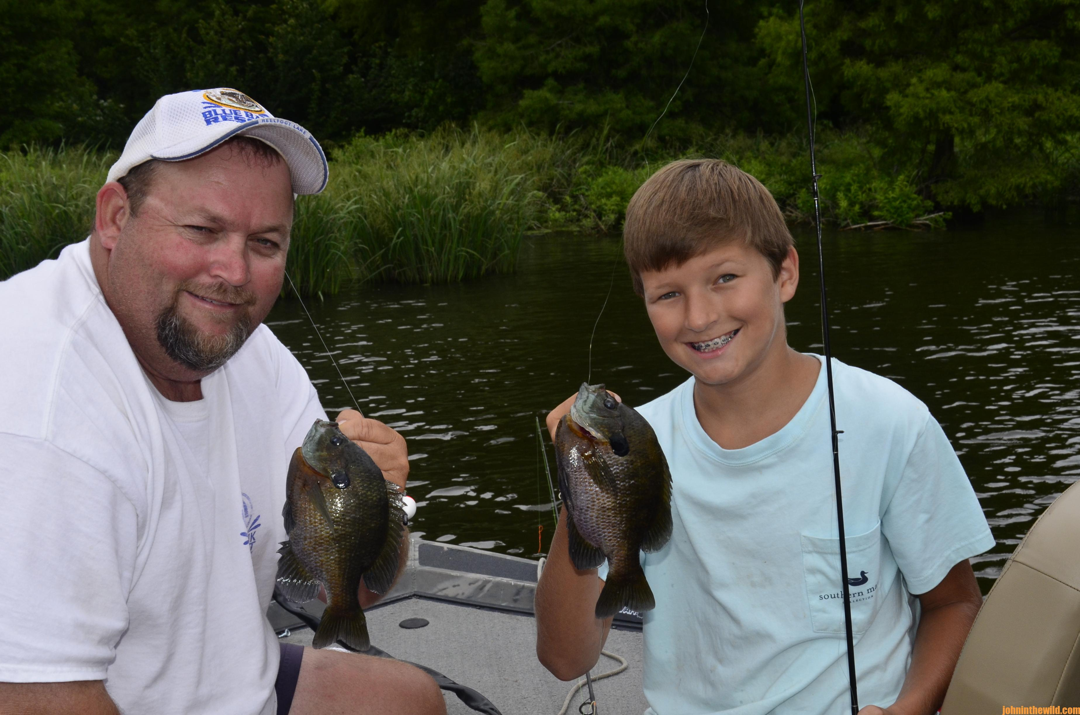 Bluegill Rigs with Reelfoot Lake's Billy Blakely   John In The Wild