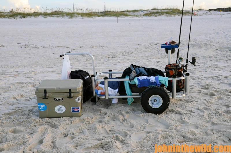 What you need for successful surf fishing john in the for What do you need for fishing