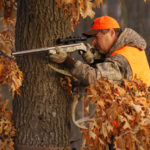 Hunting Deer from a Tree Stand and Calling to Them
