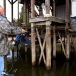 Dock Shooting Isn't Just a Spring and Summer Crappie Catching Tactic