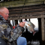 Equipment and Tactics for Shooting Docks for Crappie During a Drought