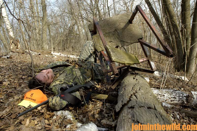 How To Be Safe In A Tree Stand When Hunting Deer John In