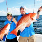 Why Leave a Spot Where You're Catching Red Snapper and Fish the Artificial Reefs