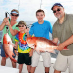 Use the Proper Baiting Technique and Fish High in the Water for Red Snapper