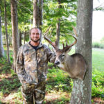 A 171-3/8 Inch Louisiana Giant Buck Deer with Dusty Myers