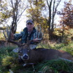 Robbie O'Bryan Takes the 218 3/8 Emperor Buck Deer in Missouri