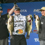Rick Clunn Enjoys a Phenomenal Day of Bass Fishing