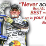 Rick Clunn Learns His Weight of St. John River Tournament Bass