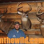 TROPHY DEER HUNTING WITH BUCKY ASER DAY 4: BUCKY HAUSER TAKES A BIG CANADA BOW BUCK