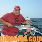 Fishing at the Gulf of Mexico Means Bent Rods and Smiling Faces with Captain Troy Frady Day 3: Captain Troy Frady Says Fish with Large Lures for King Mackerel at the Trolling Alley